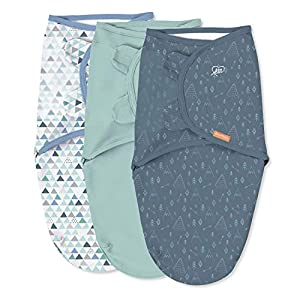crib bedding and baby bedding swaddleme original swaddle – size large, 3-6 months, 3-pack (mountaineer )