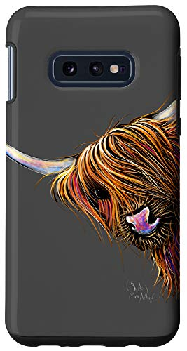 Galaxy S10e HiGHLaND CoW PRiNT ANiMaL PRiNT ' NooDLeS ' Case