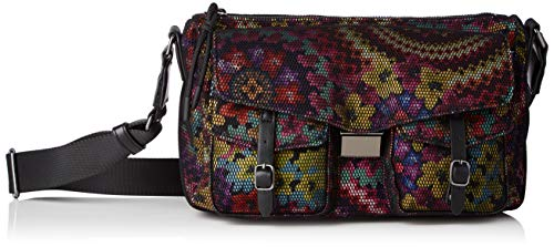 Desigual Womens Fabric Across Body Bag, RED, U