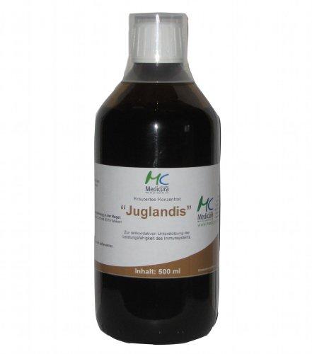 Medicura kruidenthee-aperitief-Juglandis - 500 ml glazen fles