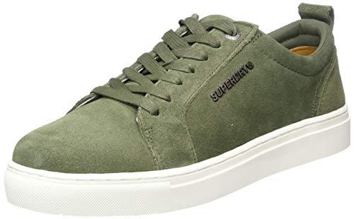 Superdry Herren Truman Premium LACE UP Sneaker, Grün (Khaki 03o), 40 EU