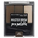 Maybelline New York 4 Deep Brown Kit Palette à Sourcils Foncée