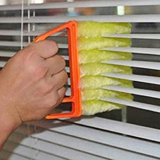 Microfiber Venetian Blinds Cleaning Brush Slat Dust Cleaner Cleaning Clip Duster Window Air Conditioner Duster Clean