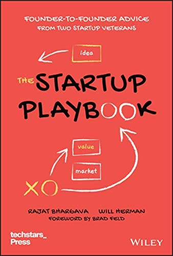 The Startup Playbook Founder to Founder Advice from Two Startup Veterans Techstars product image