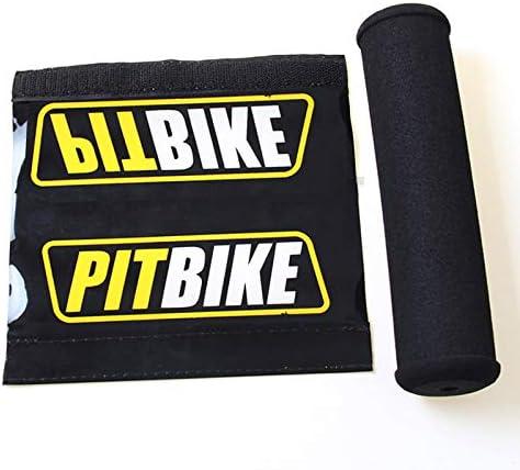 Motorrad Lenker Lenkerpolster Lenkerauflage Lenkerpolster Runde Motorrad Lenker Crossbar Bar Pad Protector Für Motocross Dirt Bike Atv Quad Schwarz Auto