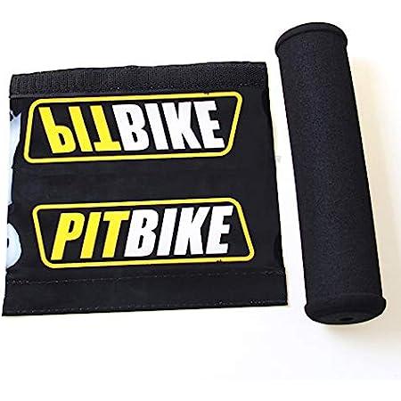 Bike It Motorrad Lenkerpolster Schaumstoff Mx Enduro Einfarbig Rot Sport Freizeit
