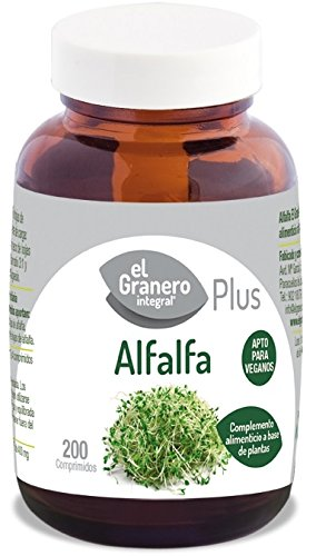 Alfalfa Forte - 200 comp - El Granero Integral