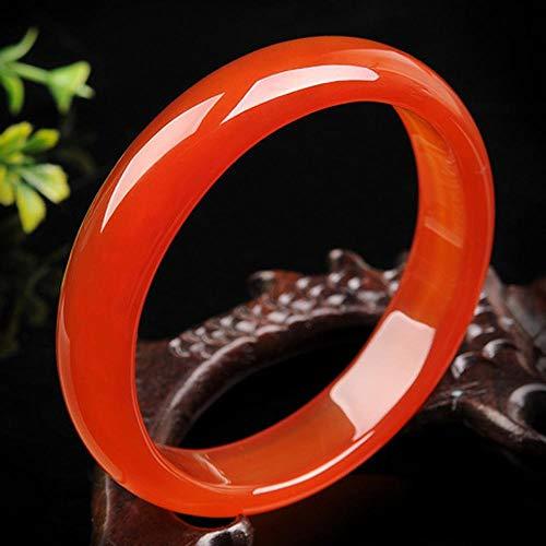Yarmy Jade Armreif,Natürliches Chalcedon-Armband Echtes Achat-Armband Weibliche Modelle Jade-Armband Jade-Jade