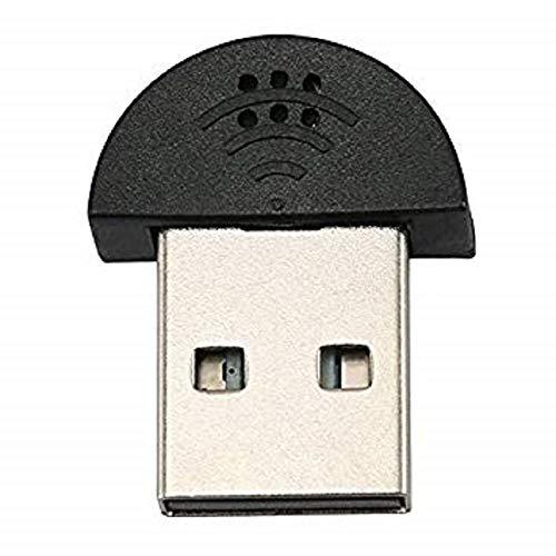 リタプロショップ? 世界最小 USBマイク PC Mac用 USBマイク 超小型 超ミニ オンラインチャット スカイプ Skype