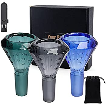 Glass Bowl 14mm Silicone Decorative Glass Bowls Tool Set Indoor and Outdoor Portable Tools(3PCS-2 )