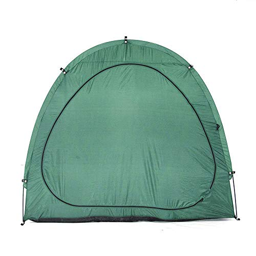 Outdoor green bicycle tent bicycle garage protective cover rainproof windproof awning storage room quick assembly outdoor green