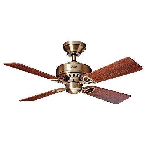 Hunter Fan Bayport Ventilador de techo, 58 W, Acero Inoxidab
