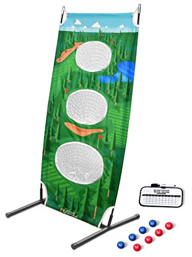 Why Should You Buy GoSports BattleChip Vertical Challenge Backyard Golf Game, Fun New Golf Chipping ...
