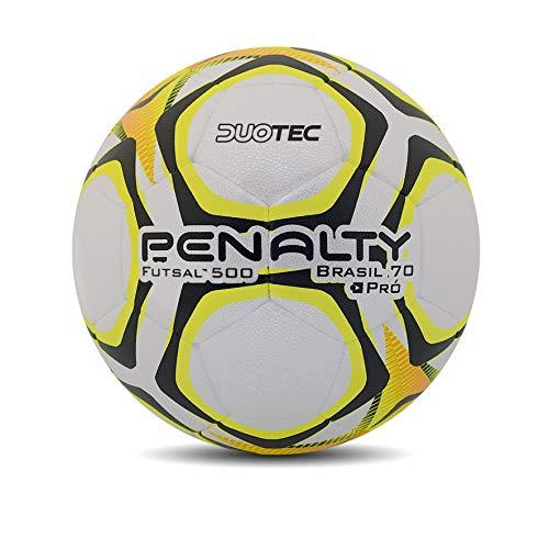 Bola Futsal Brasil 70 500 Pro IX Penalty 64 cm Branco