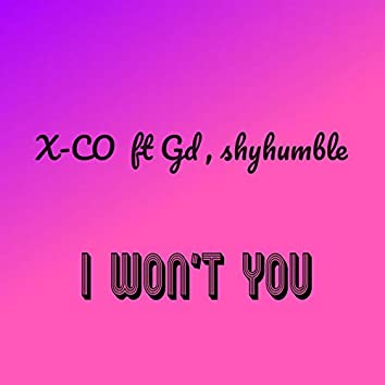 I Won't You (feat. Gd & Shyhumble)