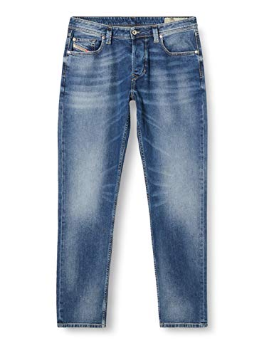 Diesel Herren Jeans Larkee-Beex 0853P Regular-Tapered Blue (82) 36/32