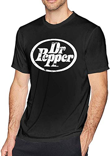 Dr Pepper Graphic T-Shirt Adult Soft Round Collar T-Shirts Tee Shirts Size:S-6XL