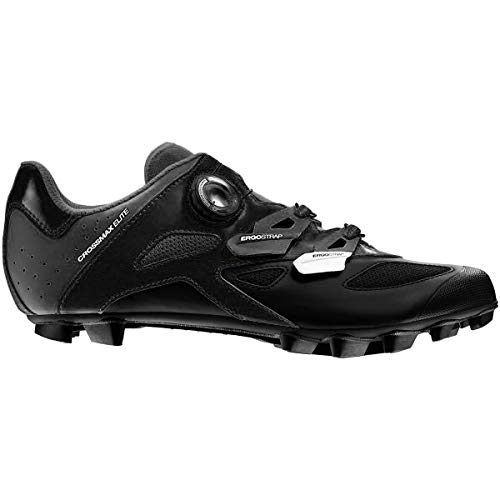 Mavic Crossmax Elite Cycling Shoe - Men's Black/Black, US 10.0/UK 9.5