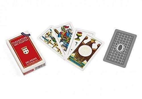 Dal Negro- Carte Mazzo da 40 PIACENTINE Colorato, 9 x 5 x 1.8, 4136