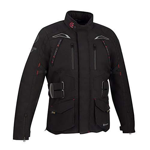 Bering Chaqueta moto QUEBEC Negro, Negro, 3XL