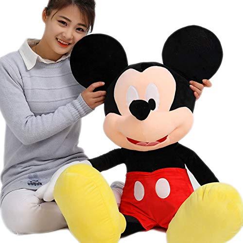 Muñeca Mouse Mickey Minnie Peluche Muñeca Ragdoll Regalo de cumpleaños Juguetes para Niños,M2,60CM