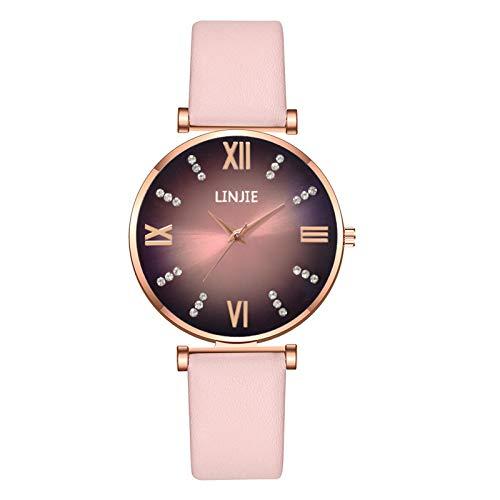 Relojes Para Mujer Moda Minimalista Elegante Con Tira De La Correa Relojes De Cuarzo Para Mujer Reloj De Regalo Pulsera Para Reloj De Moda Reloj De Aleación De Moda Relojes Decorativos Casuales Para N