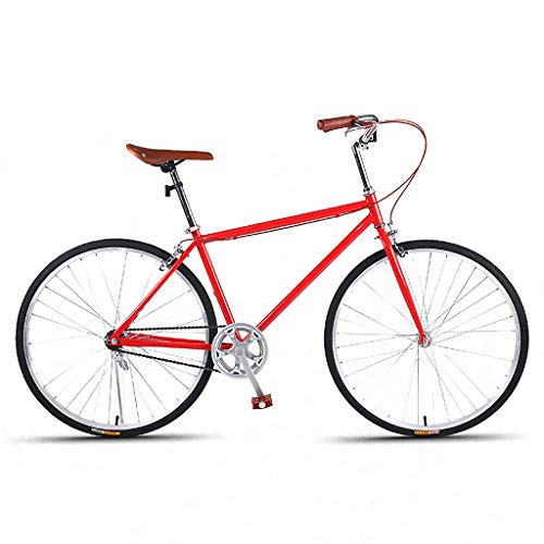 Pendler Fahrrad Herren Rennrad Single Speed 26 Zoll Light Comfort Rennrad City Bike Unisex Mehrere Farben
