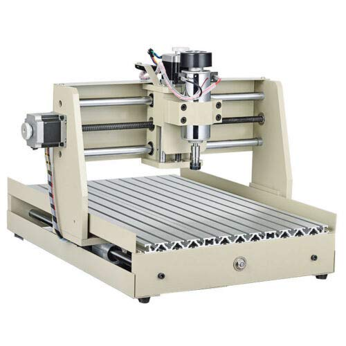 Ethedeal 400W USB 3 Axis 3040 Router Engraver Drilling Milling Machine, Desktop Engraving Woodworking 3D Cutter, PCB Wood Metal Carve DIY Milling Kit (3Axis 3040)