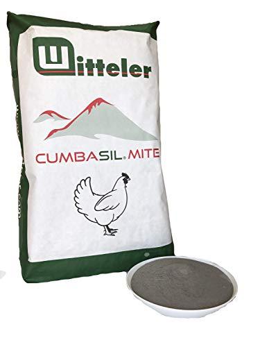 Cumbasil Mite Staubbad für Hühner, Pulver gegen Milben, Trockenbad, 100% natürlicher Milbenschutz, Milben-Puder, Milbenmittel, 25kg Sack