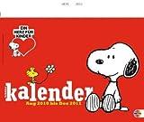 Peanuts Schülerwandkalender 2011: Mit Schulferien. 17-Monats-Kalender Aug 2010 - Dezember 2011