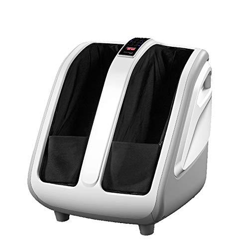 Best Bargain XISURE Electric Shiatsu Foot and Calf Leg Massager Machine with Heat, Deep Rolling Knea...