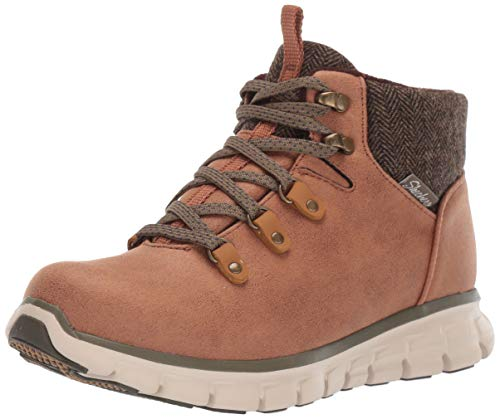Skechers Women's Synergy-Mountain Dreamer Chukka Boot, Chestnut, 7 M US