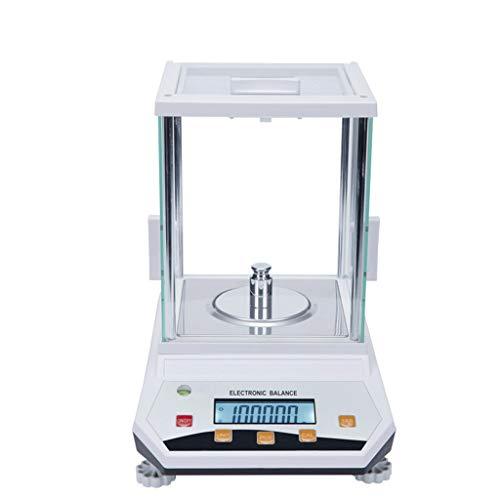 LJP Digitale digitale weegschaal, hoge precisie, roestvrij staal, LCD, tarrafunctie, voor gouden sieradenlaboratorium 300g/0.001g