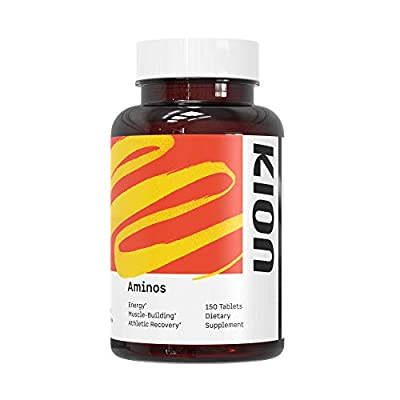 Kion Aminos Essential Amino Acids Tablets Supplement | The Building Blocks for Muscle Recovery, Reduced Cravings, Better Cognition, Immunity, and More | 30 Servings