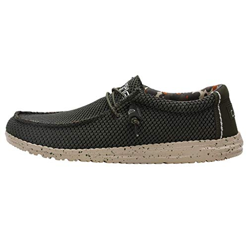 Dude Shoes Almizcle de Malla de Sox de Wally Hombres UK11/EU45