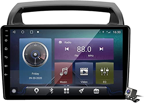 Navigazione GPS Autoradio per K-IA Carnival VQ 2006-2014, Schermo tattile IPS Android 10.0 Autoradio Stereo Supporta Il Controllo del Volante BT Mirror-Link 4G WiFi