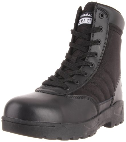 "Original S.W.A.T. Men's Classic 9"" Light Safety Toe Work Boot,Black,7 M US"