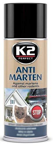 RAE Spray Protezione Repellente Anti RODITORE, Spray roditore, Spray Martore Resistente all Acqua per Macchina Vano Motore Auto, Casa e Garage - 400ml