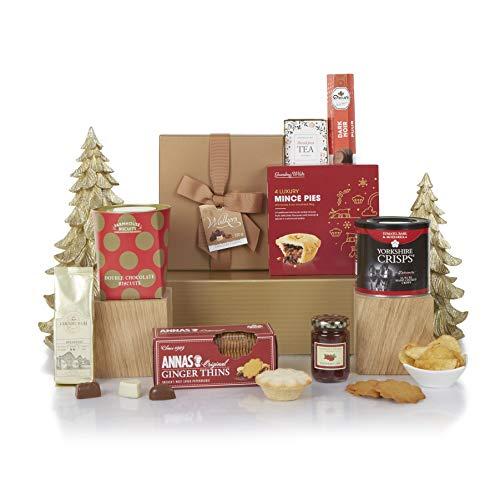 Christmas Delights Hamper, Luxury Xmas Food & Afternoon Tea Gift Hampers, Hamper and Gift Baskets