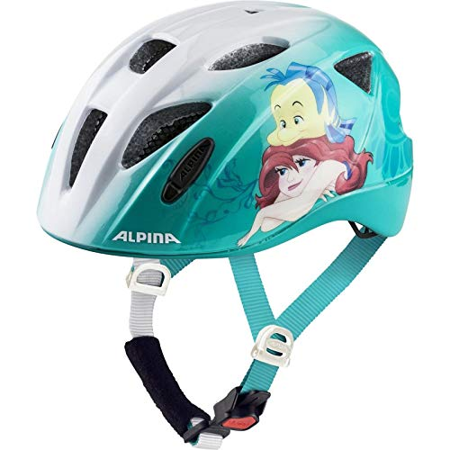 ALPINA Unisex - Kinder, ROCKY Fahrradhelm, Disney Arielle, 47-52 cm