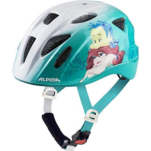 ALPINA ROCKY Fahrradhelm, Kinder, Disney Ariel, 47-52