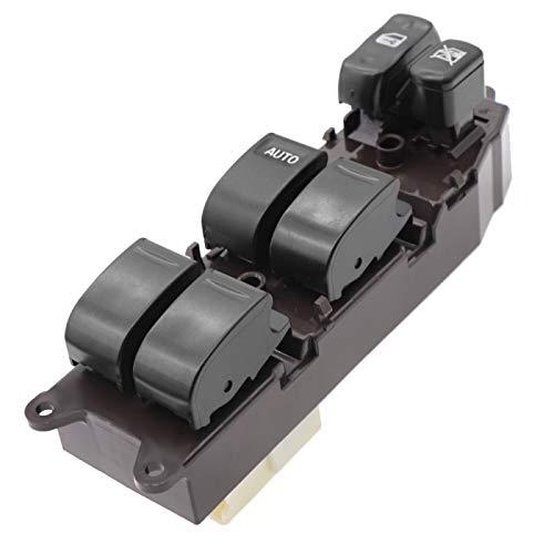 MYlnb 84820-60130 Interruptor Principal de Ventana eléctrica de conducción Delantera Izquierda, para Toyota Land Cruiser 100 1998-2002 8482060130 84820 60130