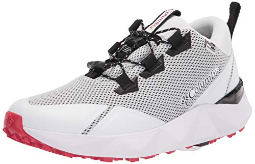 Columbia womens Facet 30 Outdry hiking shoes, White/Black, 7.5 US
