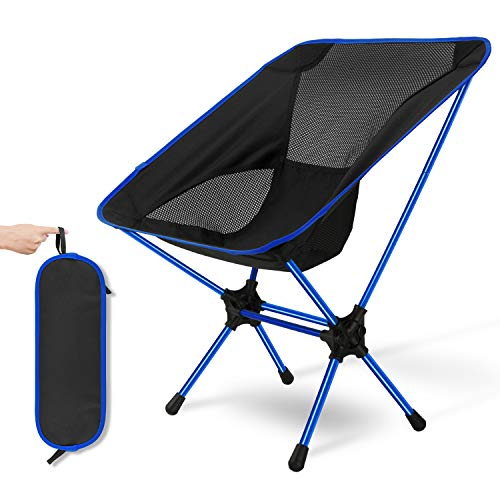Ultra Light Garden Chair Portable Folding Chair with Carry Bag for Backpacking Fishing Beach etc Sportneer Camping Chair Picnic Hiking Hold up to 350 lb//158kg Outdoors Festival Park