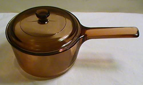 Corning Vision Baltimore Mall France Amber 3 4 Brand new Qt. with V-1-B Pan # Sauce Lid