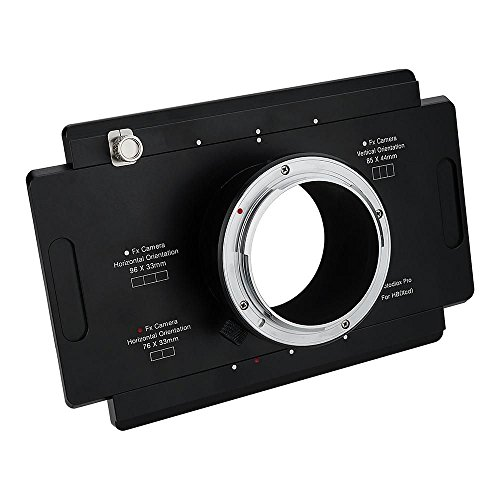 Fotodiox Pro Lens Mount Adapter, Hasselblad XCD Mount Mirrorless Digital Camera Back (zoals X1D-50c) om Large Format 4 x 5 View Camera's met een Graflok Rear Standard - Shift/Stitch Adapter