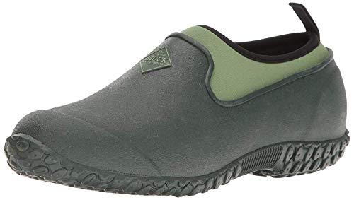 Muckster ll Women's Rubber Garden Shoes,Green,9M US