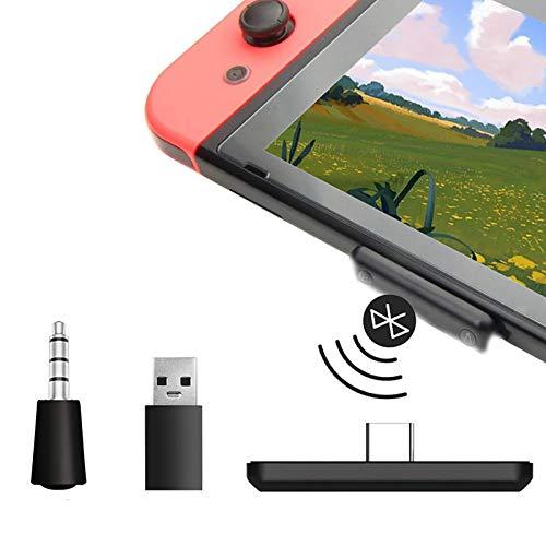 Adaptador Bluetooth para Nintendo Switch, PS4 y PC, conector USB-C, receptor de audio, transmisor de auriculares inalámbricos, soporte para chat de voz en el juego