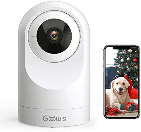 WiFi Camera Indoor Goowls Home Security Pet Dog PTZ 2 4GHz 1080P Wireless IP Camera for Baby product image