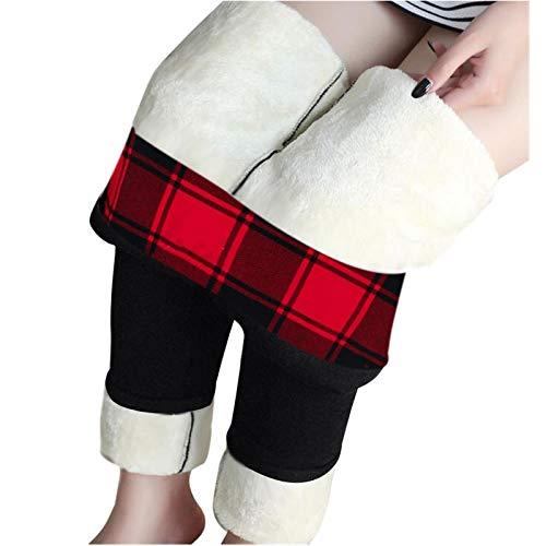 Alueeu Leggings Térmicos Mujeres Invierno pantalon Deporte...